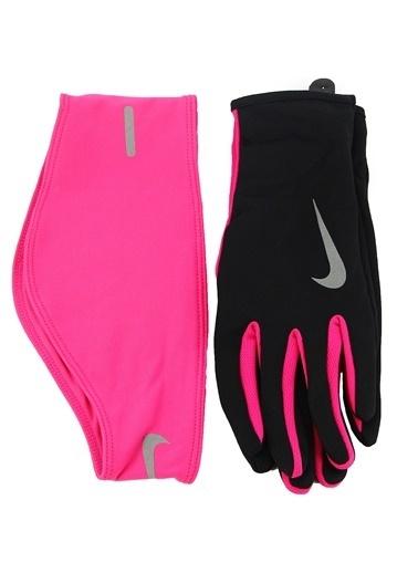 Nike Set    Eldiven-Saç Bandı Siyah